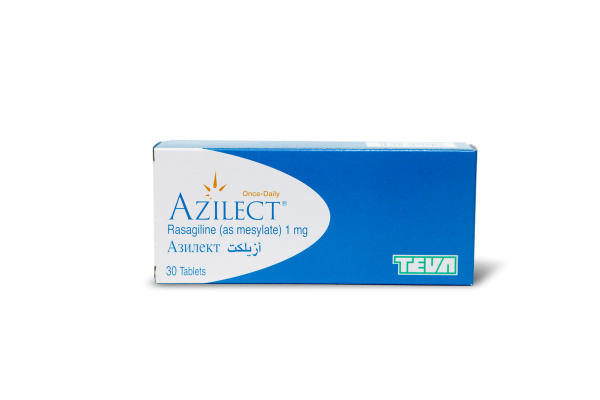 Азилект, Azilect, Разагилин, 1 мг, 30 таблеток