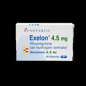 Экселон, Exelon, Ривастигмин, 4.5 мг