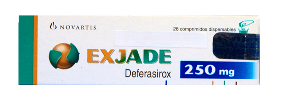 Эксиджад, Exjade, деферазирокс, 250 мг