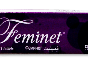 Феминет, Feminet, Дезогестрел, Этинилэстрадиол, 3х12