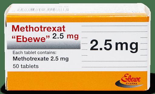 Метотрексат, Methotrexate, 2.5 мг
