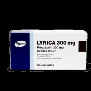 Лирика, Lyrica, прегабалин