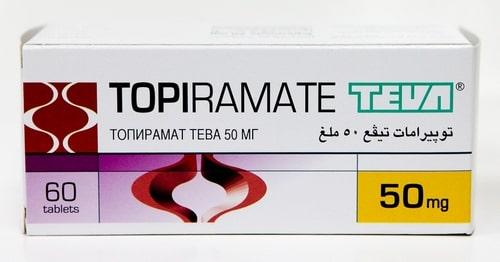 Топирамат, Topiramate